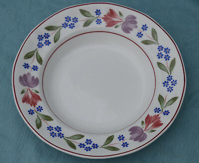 Adams OLD COLONIAL Rimmed Soup Plate. Diameter 7 5/8 inches.