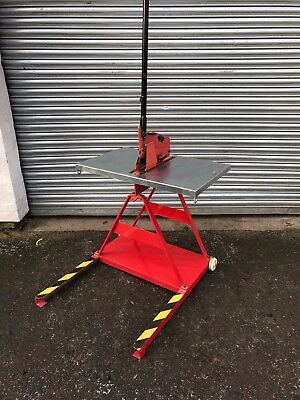 Gabro Model 3M2 Guillotine/Notcher on Stand
