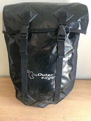 OBA155 Outeredge Bicycle Cycle Bike Impulse Laptop Pannier Bag /& Raincover