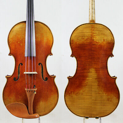 Antique Vanish! Andrea Amati  Viola 16.5 inch Copy!  #5036 Deep Warm Tone!