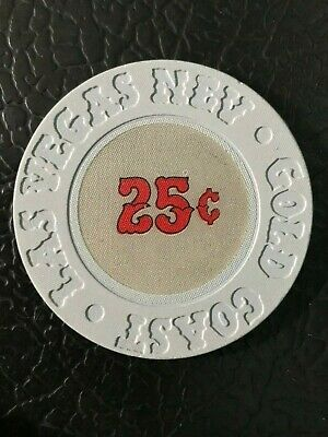 GOLD COAST  25 cent Fractional  Las Vegas Casino Chip combined shipping