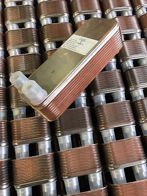 New, Alpha Laval, Ac10-16, Brazed Plate Heat Exchanger, -58 - 347F, R410A(Crate)