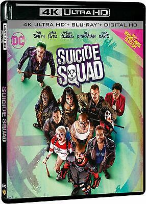 Suicide Squad Blu Ray 4K Ultra Hd + Blu Ray Neuf Sous Cellophane
