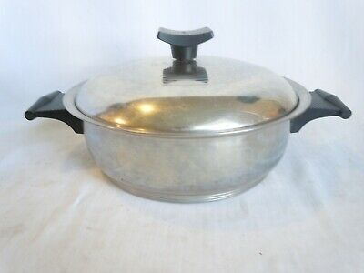 Rena Ware 3 Ply 18-8 Stainless Steel 2 Qt Sauce Pan With Lid Made In Usa