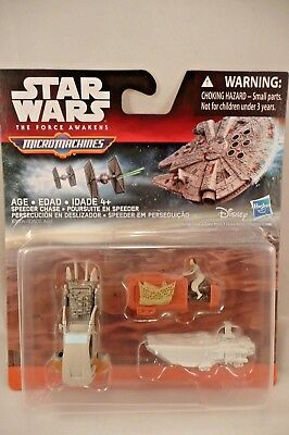 or Millenium Falcon Hasbro Star Wars The Force Réveille micro machines