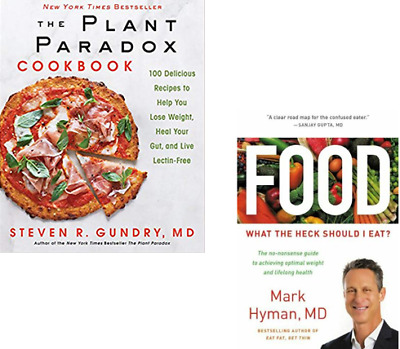 The Plant Paradox Cook book by Steven Gundry  pdf + Food What the Heck Should