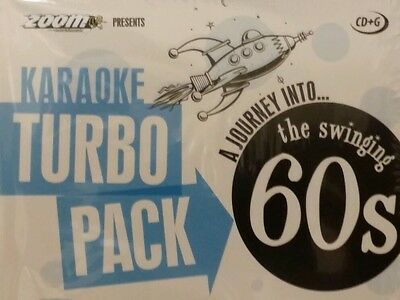 KARAOKE CDG    TURBO PACK 132  GOLDEN HITS from 60s    (SET  1 to 5 )