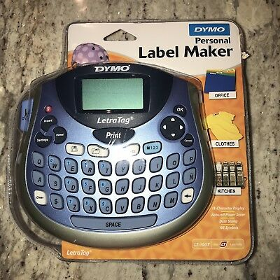 DYMO LetraTag LT-100T Personal Label Maker Portable English French Spanish