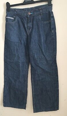Ted Baker Boys Blue Denim  Trousers Jeans Age-old 13years