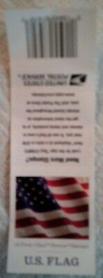 2016 USPS U. S. Flag used empty ten first class forever stamp book