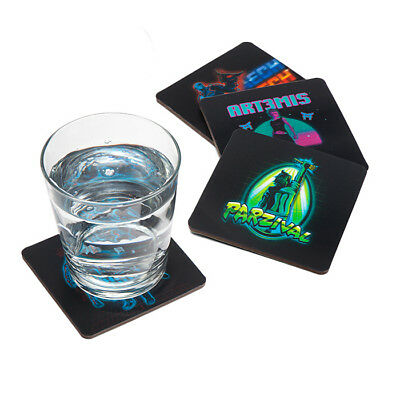 Geek box Exclusive Ready Player One 3D Lenticular Coasters