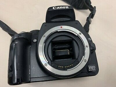 Canon EOS 350D DSLR Digital Camera - Body only With Battery - Full Working Order