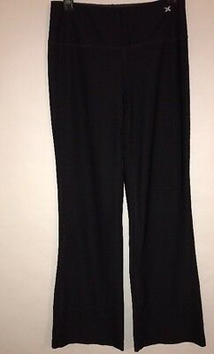 e6b4af2c90f6c Xersion S Performance Wear Fitted Black Capri Cropped Athletic Yoga Pant WP2