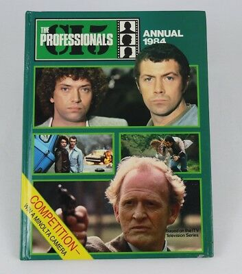 Vintage The Professionals Annual 1984
