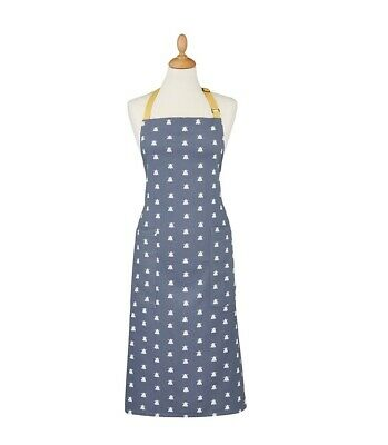 Ulster Weavers Bees Cotton Apron - Blue/White/Yellow