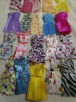 USA 10 piece/lot fashion party daily wear dresses outfits clothes for doll toys