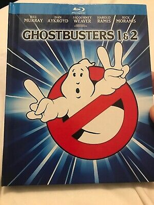Ghostbusters/Ghostbusters 2 (Blu-ray Disc, 2014, Mastered in 4K Digibook.