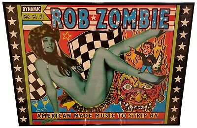 """Rob Zombie-American Made Music Limited Edition In Store Promo Poster 24"""" X 36"""""""