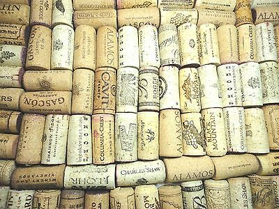 40  Wine Corks - Natural Corks No Synthetics - No Champagnes For hand craft