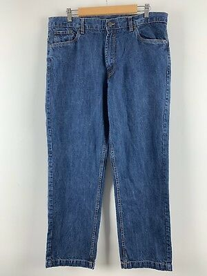 "Mens Straight Jeans Blue One Valley Casual Wear Size L38"" -  W29"" Uk *SC"