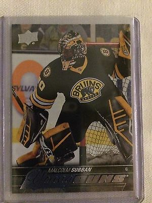 2016 Ud Series 1 Malcolm Subban Young Guns Rookie Yg Rc