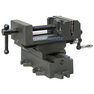 2 Way 4'' Drill Press X-Y Compound Vise Cross Over Slide Mill Milling Vice Table