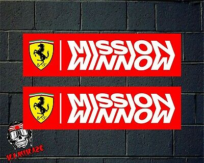 Sticker Autocollant Adesivi Aufkleber Decal Adesivo Mission Winnow Ferrari F1