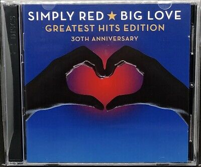 Simply Red - Big Love (Greatest Hits Edition 30Th Anniversary), Double Cd Album.