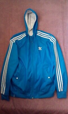 genuine shoes newest collection usa cheap sale ADIDAS ORIGINALS REVERSIBLE Windbreaker in Black & Grey - XL ...