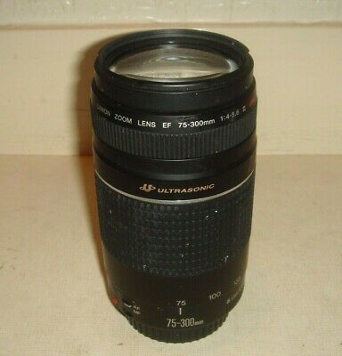 Canon Zoom Lens EF 75-300mm 1:4-5.6 III USM Ultrasonic