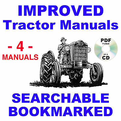 ford 741, 771 tractor service, parts catalog owners manual -4- manuals 1953