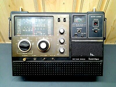 Readers Digest Multi-Band Receiver  Model RDA-127 AM/FM Shortwave Radio