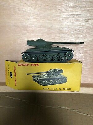 French Dinky REPRO DINKY Reproduction Box 883 CHAR AMX POSEUR DE PONT