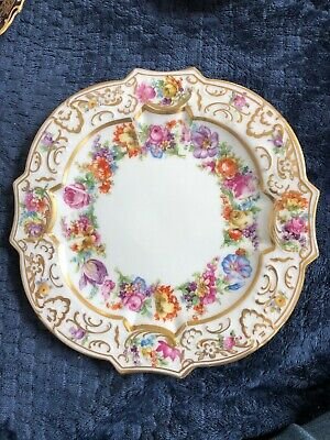 Schumann Garland salad Plate (s), 7 1/2 inches sm amt of edge rub