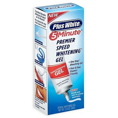 Plus White Premier 5 Minute Speed Teeth Whitening Gel 2 Oz