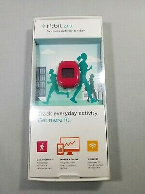 Fitbit Zip Wireless Activity Tracker - NEW(Other) - Red