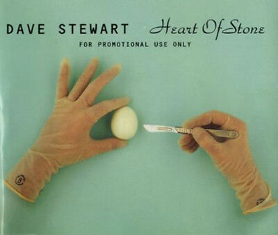 EURYTHMICS - DAVE STEWART CD Heart Of Stone UK PROMO 1994 2 Track in Pic Sleeve