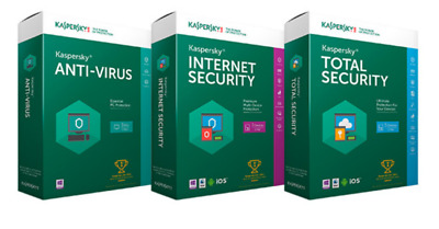 Antivirus Kaspersky Internet Security 2019 Rapide -24H Entreprise France