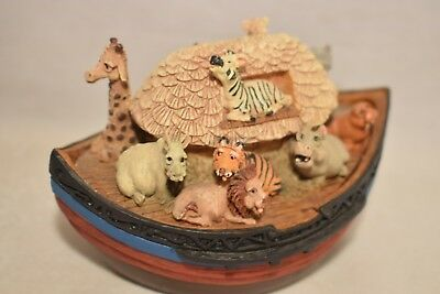 NOAH'S ARK TRINKET BOX  by Character Collectibles      (1118P)