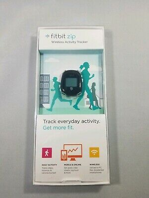 Fitbit Zip Wireless Activity Tracker - USED IN BOX- Black with spare battery
