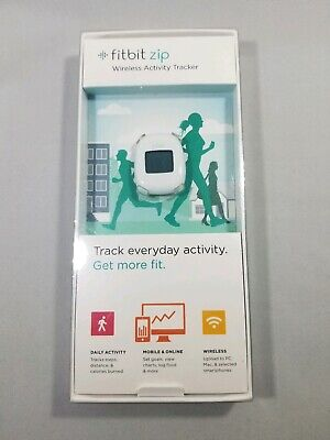 Fitbit Zip Wireless Activity Tracker - NEW IN BOX - WHITE with spare battery
