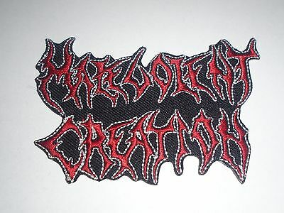 Malevolent Creation Iron On Embroidered Patch