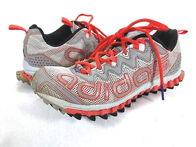 a17a663b6 Adidas Vigor TR 3 Trail Running Shoes Gray Orange Men s Size 8.5 Sneakers