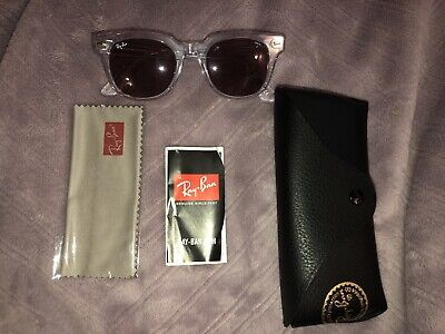 3cff0e748ea6b7 Ray-Ban Meteor Evolve Sunglasses Rb2168 912 z0 Purple Photochromic Lens 50Mm