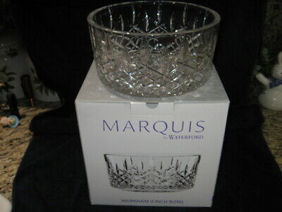 Marquis By Waterford Markham 9 Inch Bowl New In Box