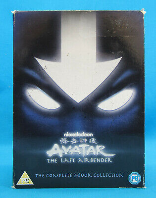 Avatar The Last Airbender The Complete 3-Book Collection Region 2 DVD Box Set