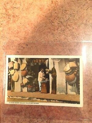 Antique Philippine American Colonial Period Postcard