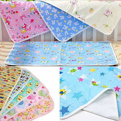 Baby Infant Diaper Nappy Urine Mat Kid Waterproof Bedding Changing Cover Pad New