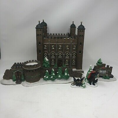 DEPT 56 Dickens Village Tower of London Historical Landmark Series NO OUTER BOX