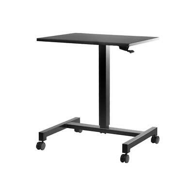 Mobile Portable Laptop Desk Computer Office Stand Height Adjustable Work Table